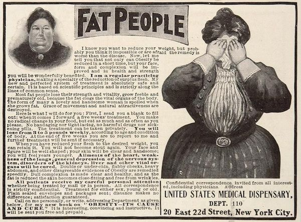 Old weight loss ads