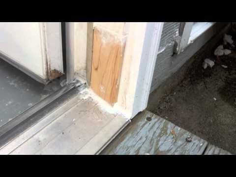 Solution For Rotten Exterior Door Frame Youtube Door Frame