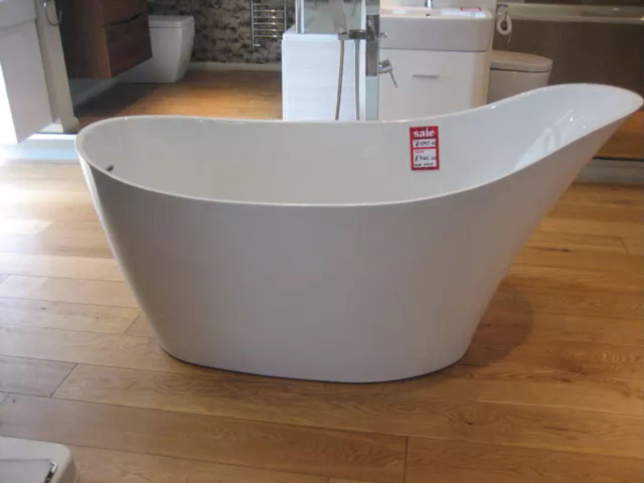 Ex Display Waters 1660mm X 780mm Freestanding Bath South West London Del Free Standing Bath West London Bath