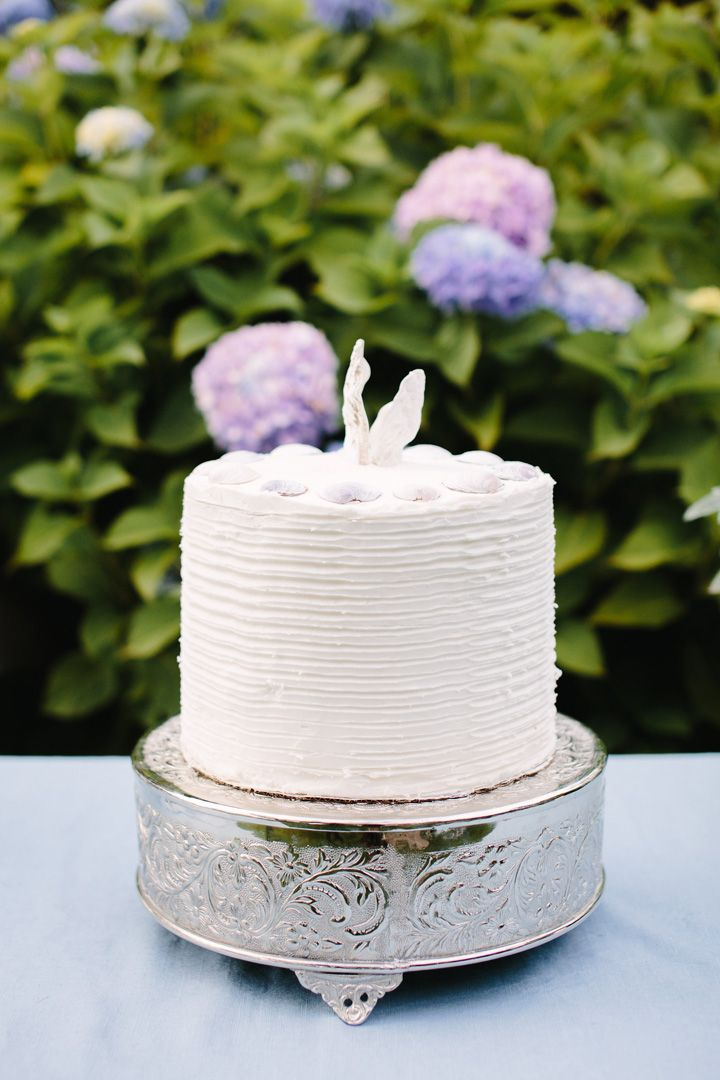 Wedding cake | fabmood.com #beachwedding #weddingcake