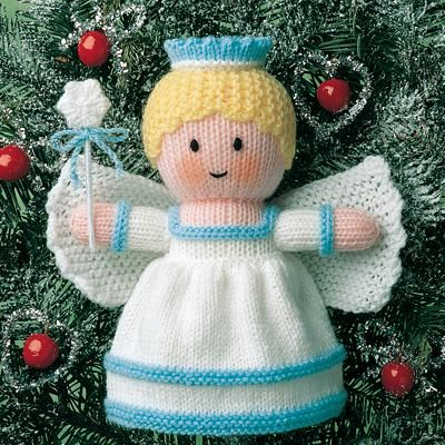 Knitting Patterns For Christmas Brooches : Christmas Tree Fairy Knitting Pinterest Christmas tree, Fairy and Knit ...