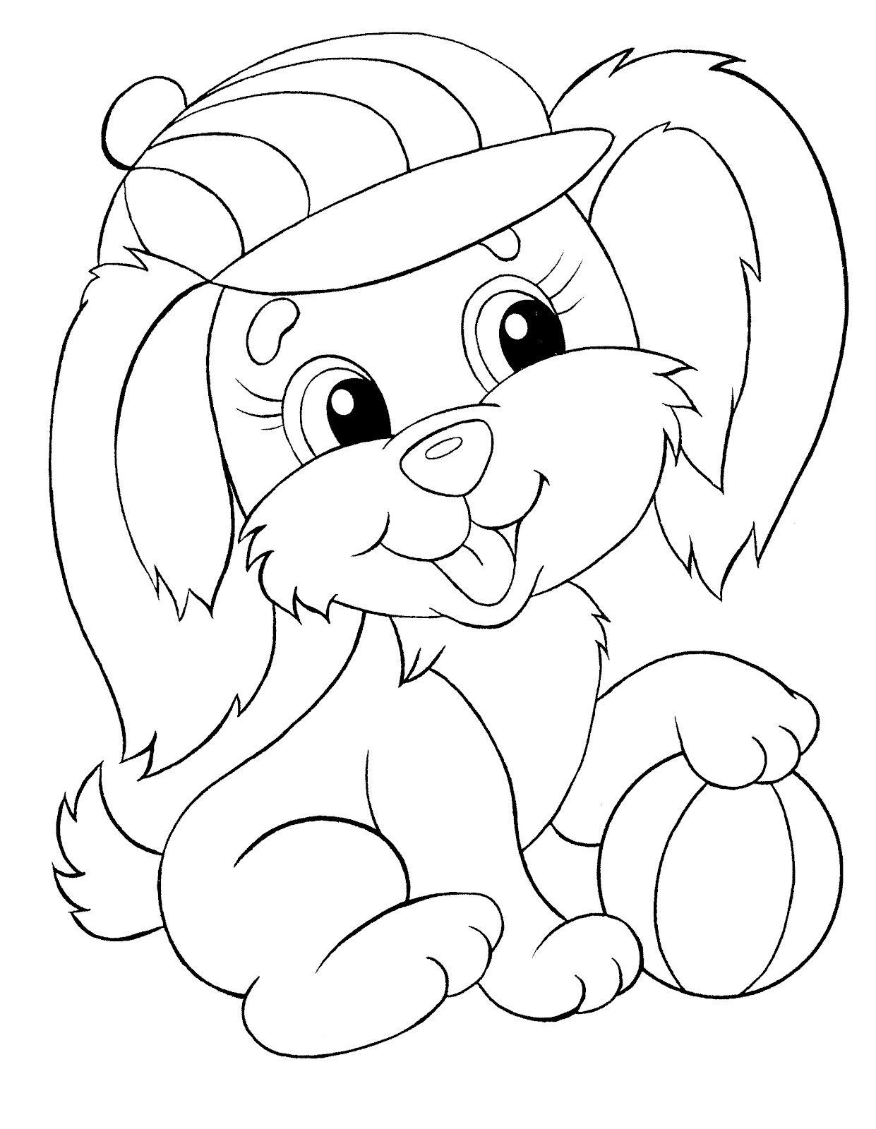 Картинка животного для детей раскраска