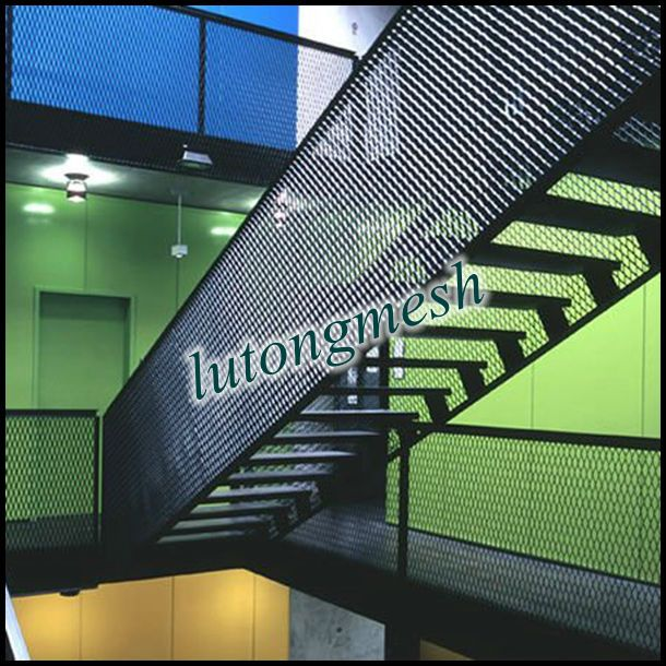 Best Architectural Decoration Expanded Metal Mesh Used As Stairs Photo Detailed About Architectural 400 x 300
