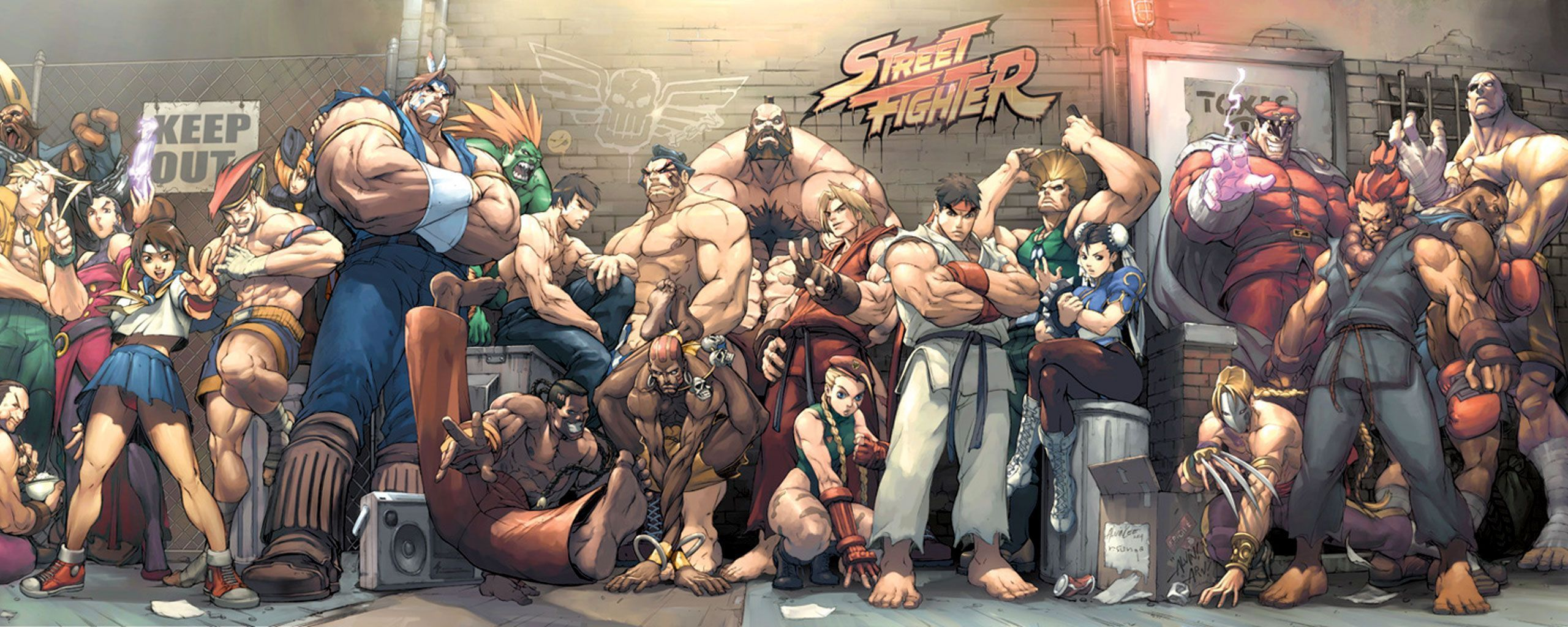 Street Fighter HD Wallpapers Wallpaper Cave Images