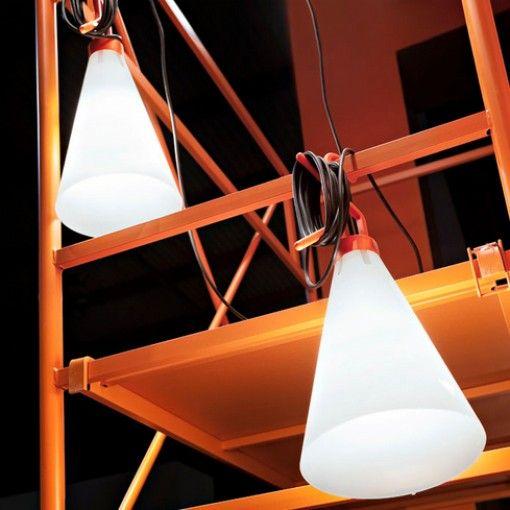 Mayday Orange Lampe Nomade FLOS