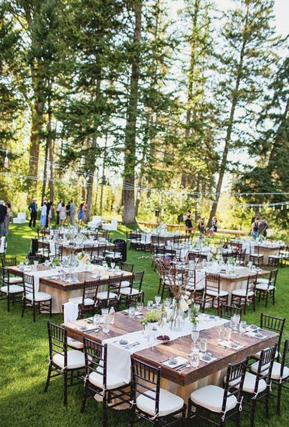 Outdoor Wedding Reception Layout Wedding Reception Layout