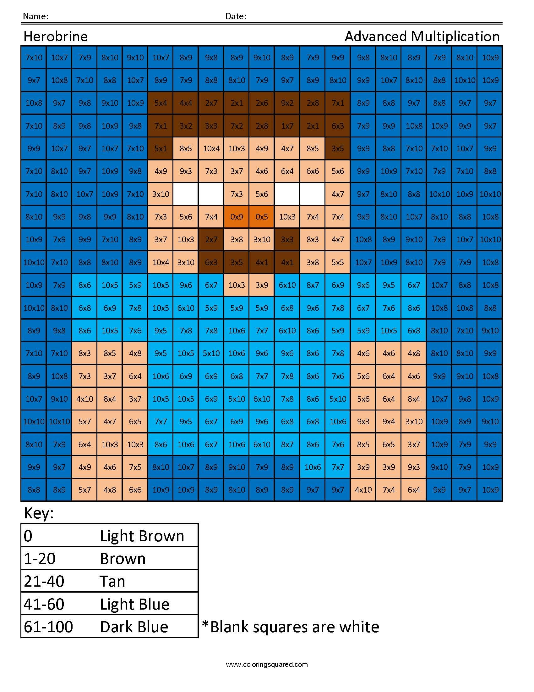 Minecraft Herobrine Coloring Page Minecraft Coloring Pages Cat Coloring Page Bunny Coloring Pages