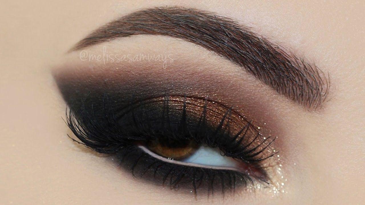 ♡ Copper Sparkle + Pink Lips Makeup Tutorial! | Melissa Samways ♡