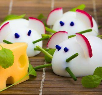Telur bentuk tikus