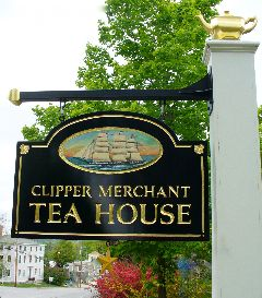 Clipper Merchant Tea House Limerick Maine Tea Rooms