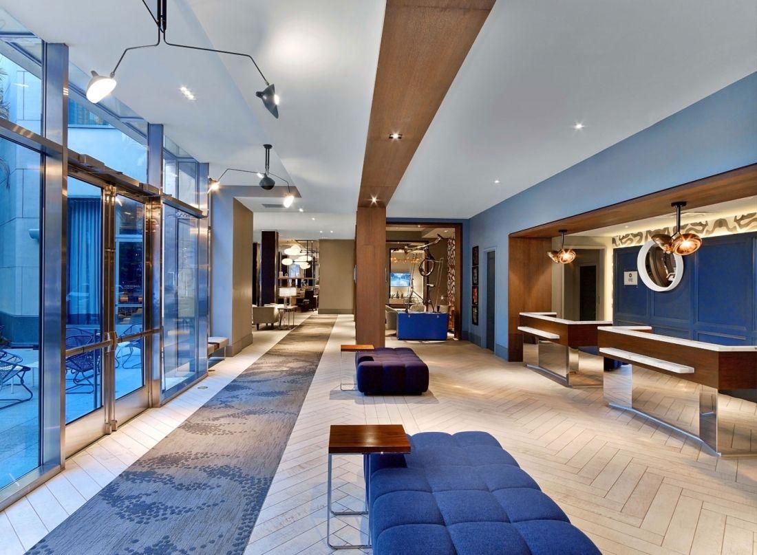 Meyer Davis — Le Meridien   Lobby interior design ...
