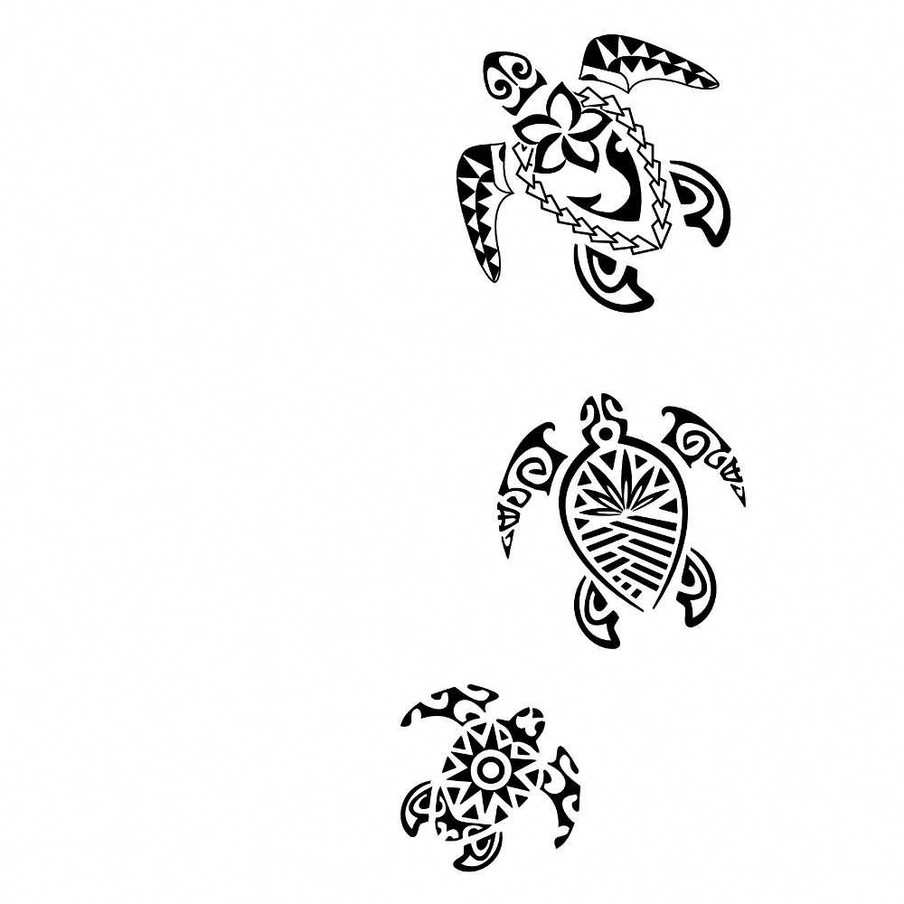 Hawaiian Tattoos Tahitian Tattoo Tribal Turtle Tattoos Hawaiian Tattoo