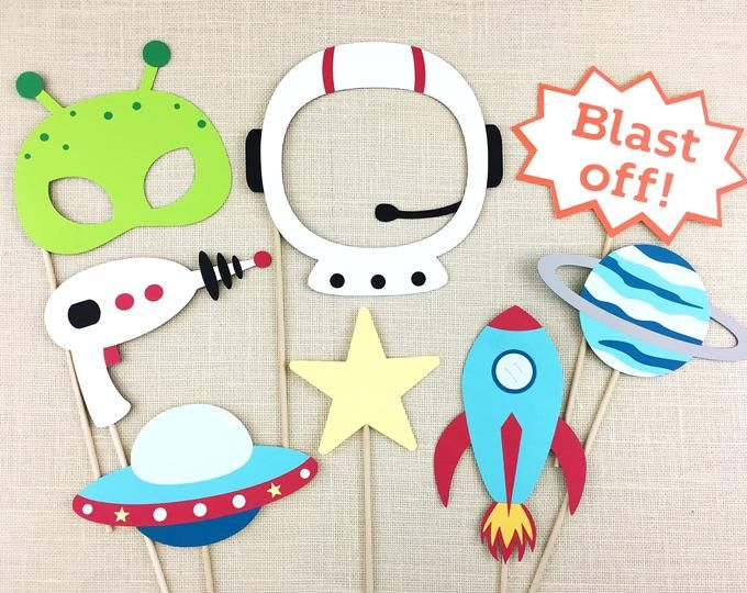 Photo of Space birthday, space themes, rocket ship banners, space banners, space ship banners, space party decorations, space party decor