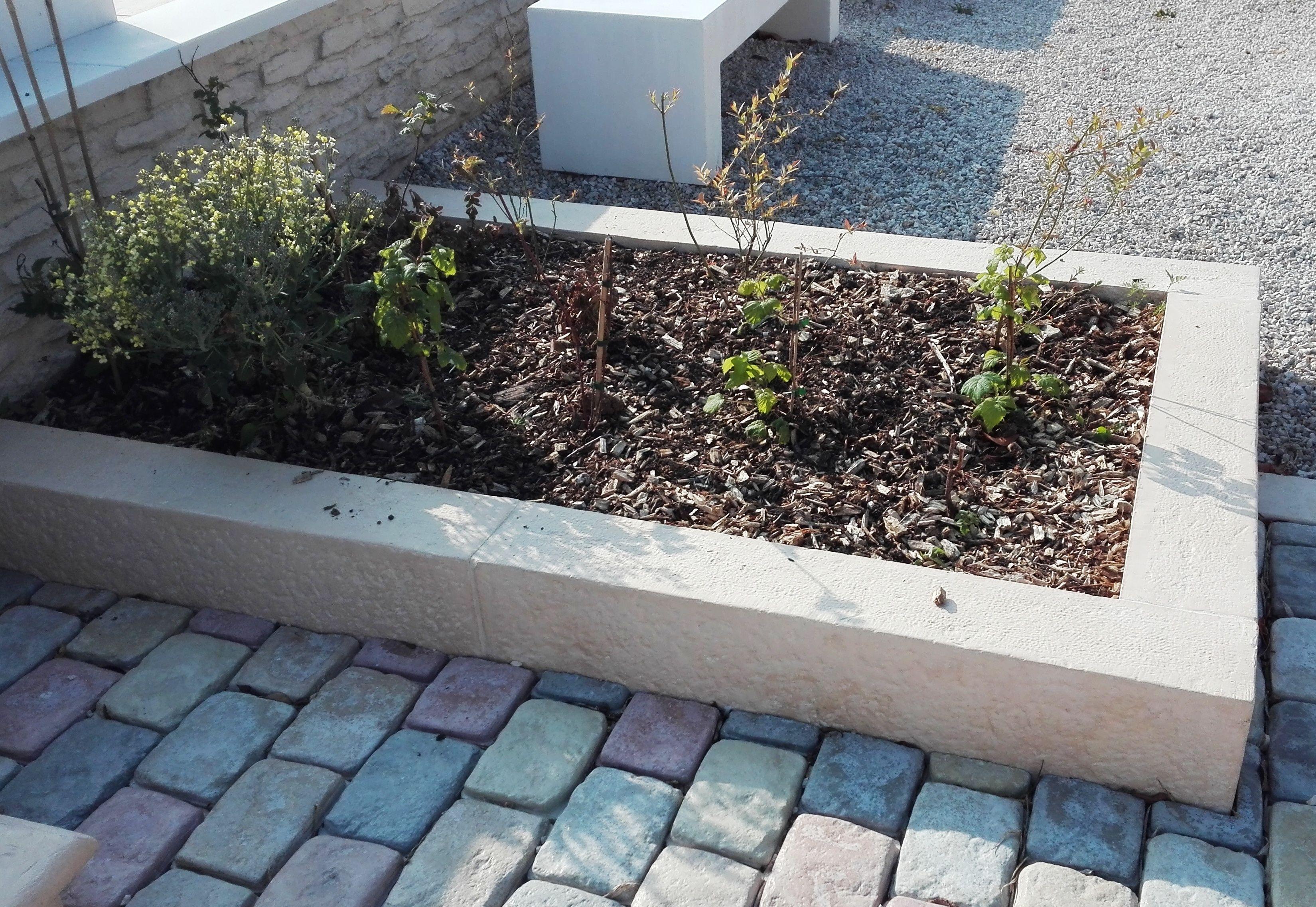 Jardiniere Modulable A Partir De Bordure De Jardin Droite Aspect