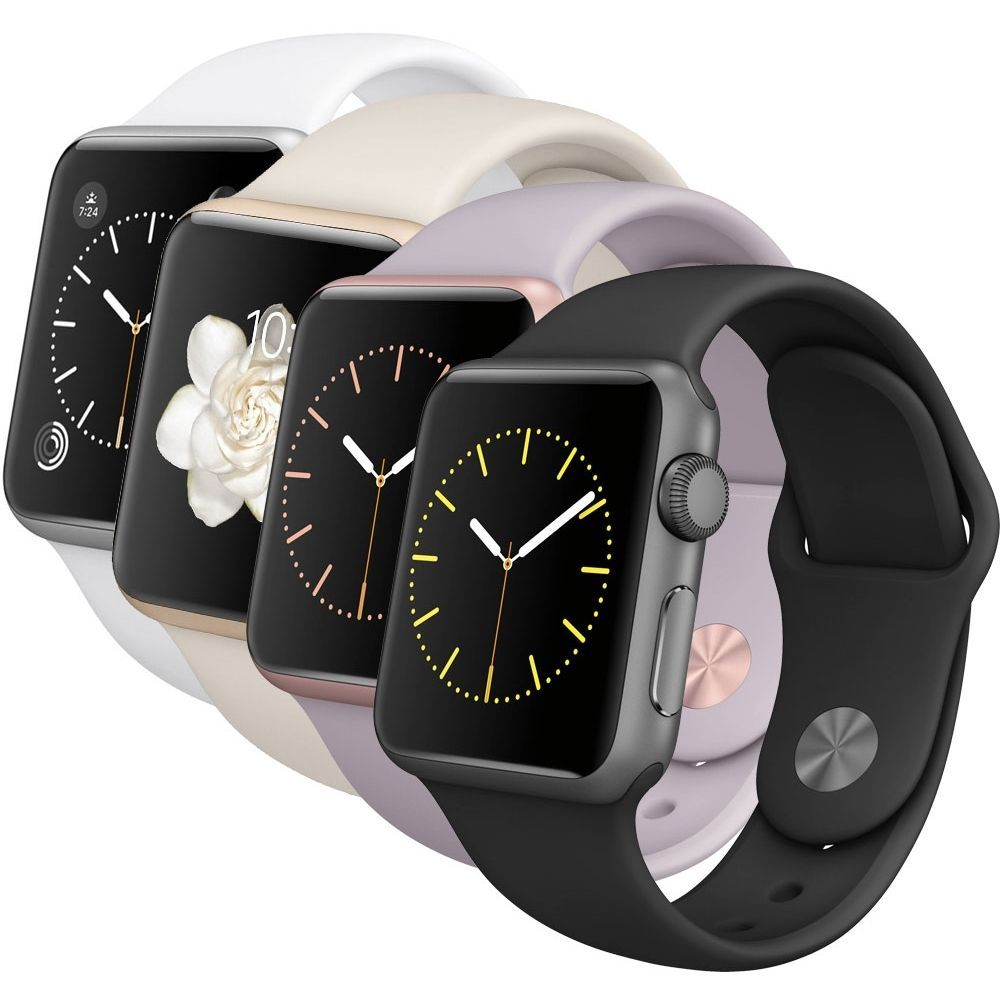 details zu apple watch sport mj2x2fd a 38mm ios smartwatch sportuhr handyuhr fitness top. Black Bedroom Furniture Sets. Home Design Ideas