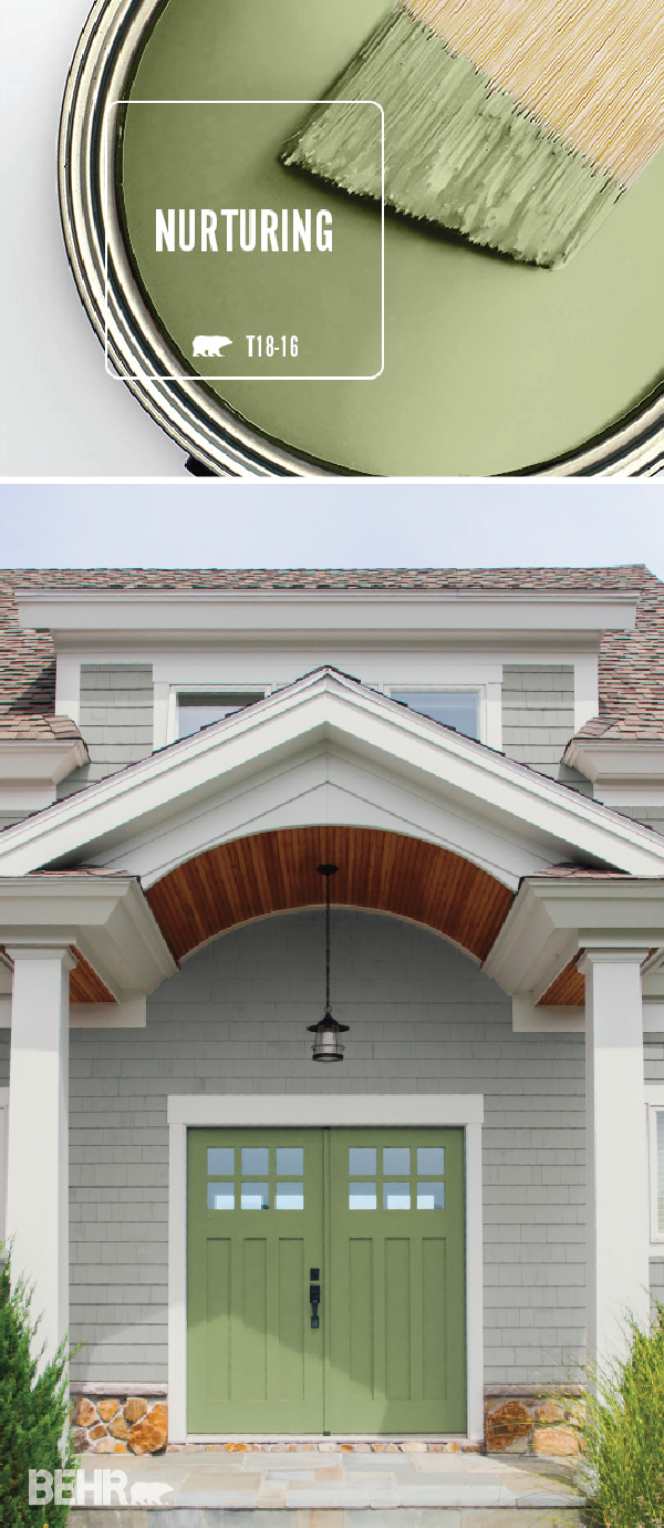Color Of The Month Nurturing Exterior Home Inspiration Paint Colors Home Home Decor