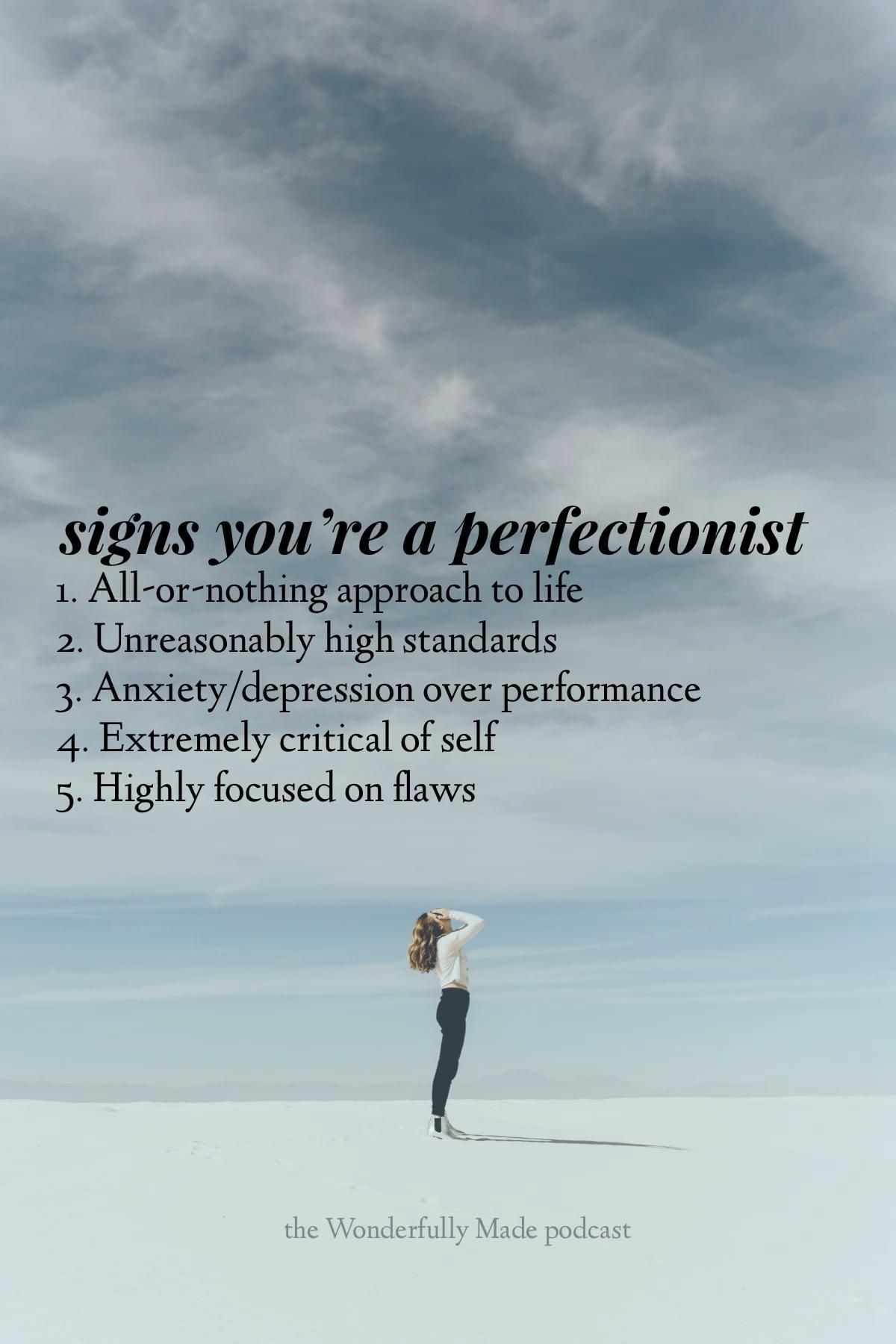 Are you struggling with perfectionism?