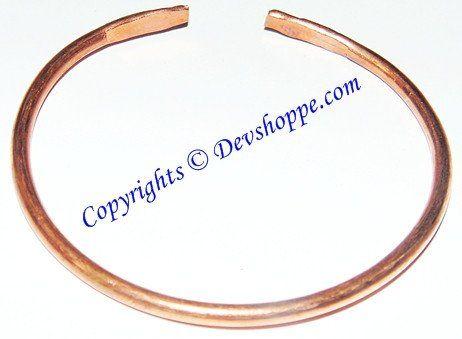 Pure Copper Kada thin size