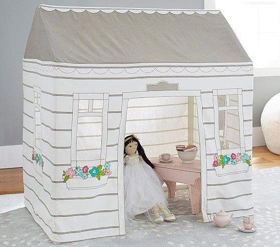 Cottage Playhouse Play Houses Pottery Barn Kids Kids Play Tent