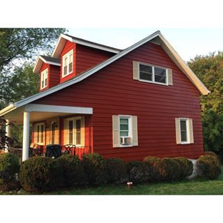 Paint Color Sw 7591 Red Barn From Sherwin Williams