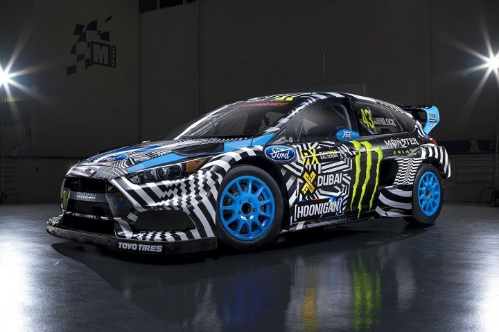 Ken Block Ford Fous Rx Ford Focus Ford Focus Rs Ken Block