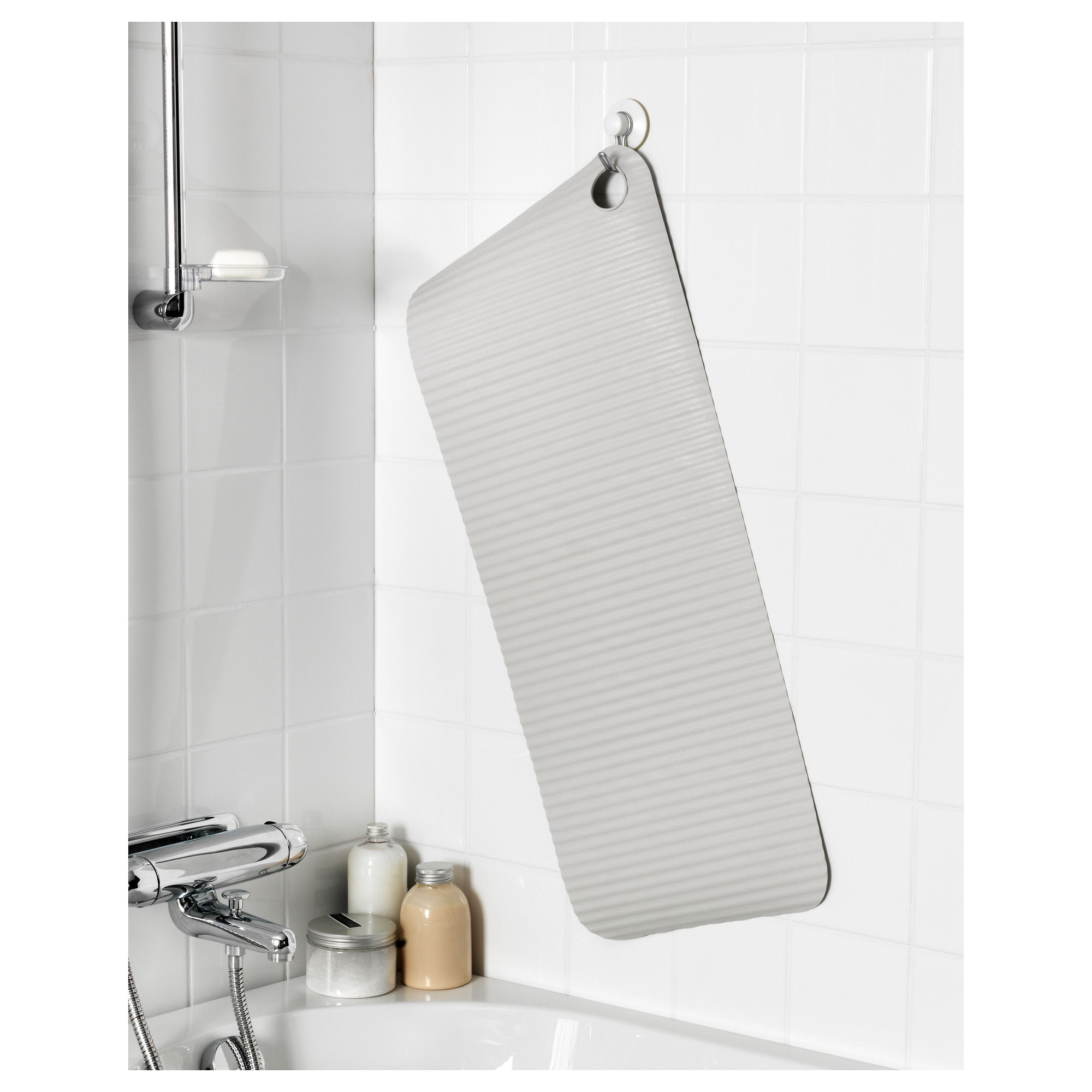 IKEA   DOPPA, Bathtub Mat, Suction Cups Keep The Mat Safely In Place In  Your Bathtub Or Shower.You Can Keep The Mat Clean And Fresh Longer By  Hanging It Up ...