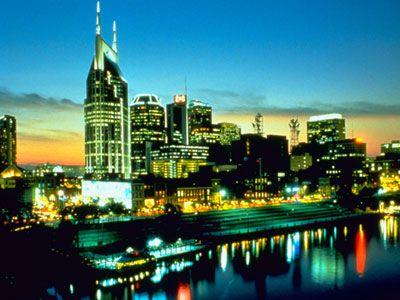 City of Nashville em Tennessee
