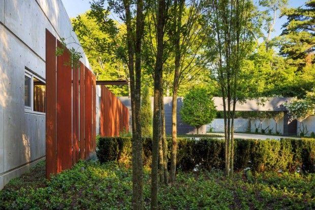 Architecture béton et acier corten par Hastings Architectural ...