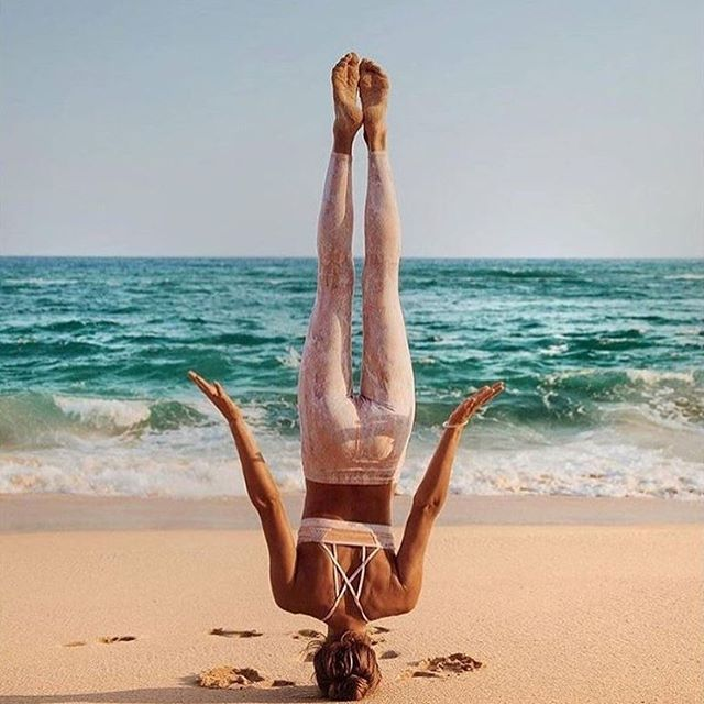Yoga Headstand Without Hands
