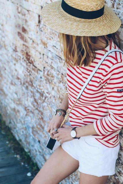 21 Outfit Ideen Mit Stroh Hüte Für Den Sommer