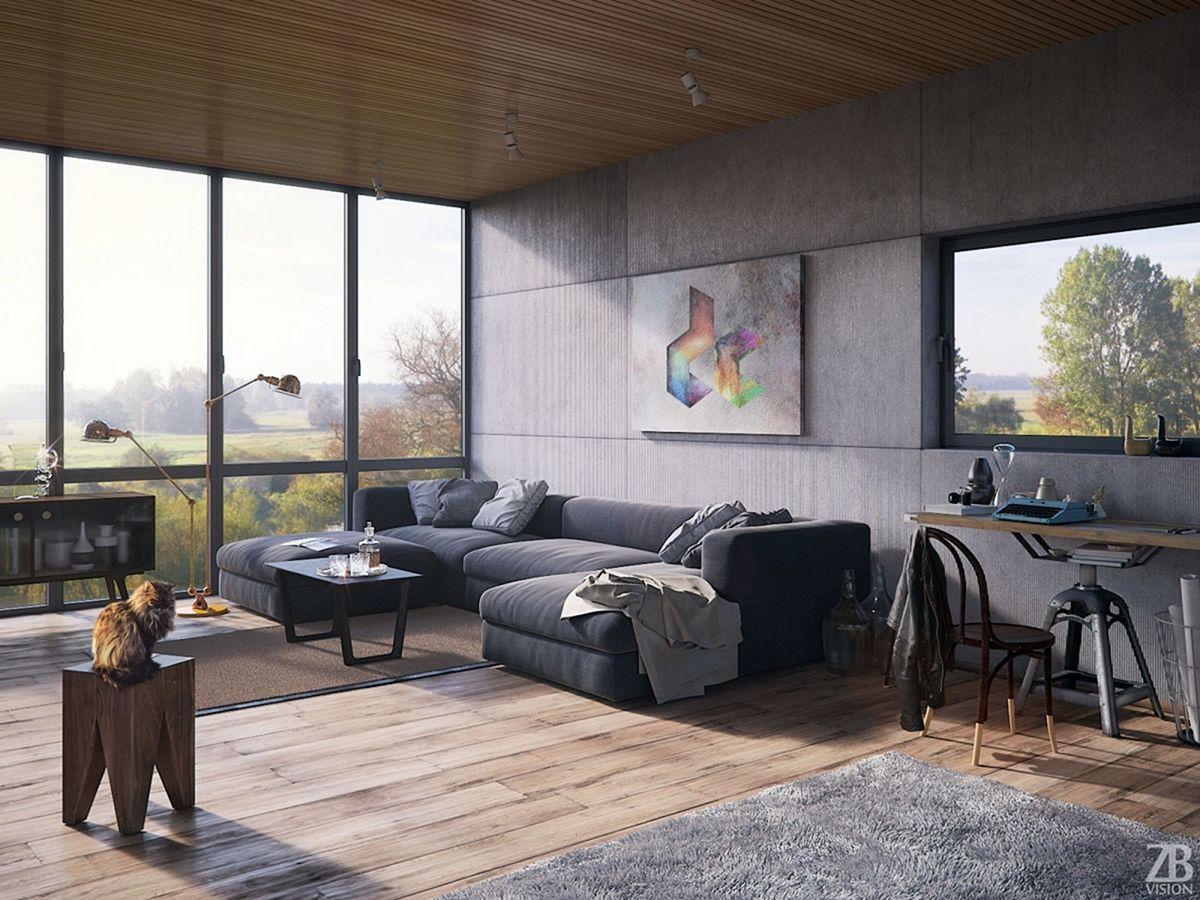 Marvelous 25 Amazing Industrial Living Room Design And Decor Ideas H Modern Industrial Living Room Industrial Living Room Design Rustic Industrial Living Room