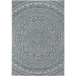 Photo of benuta indoor & outdoor rug Cleo beige / blue 160×230 cm – for balcony, terrace & garden benuta