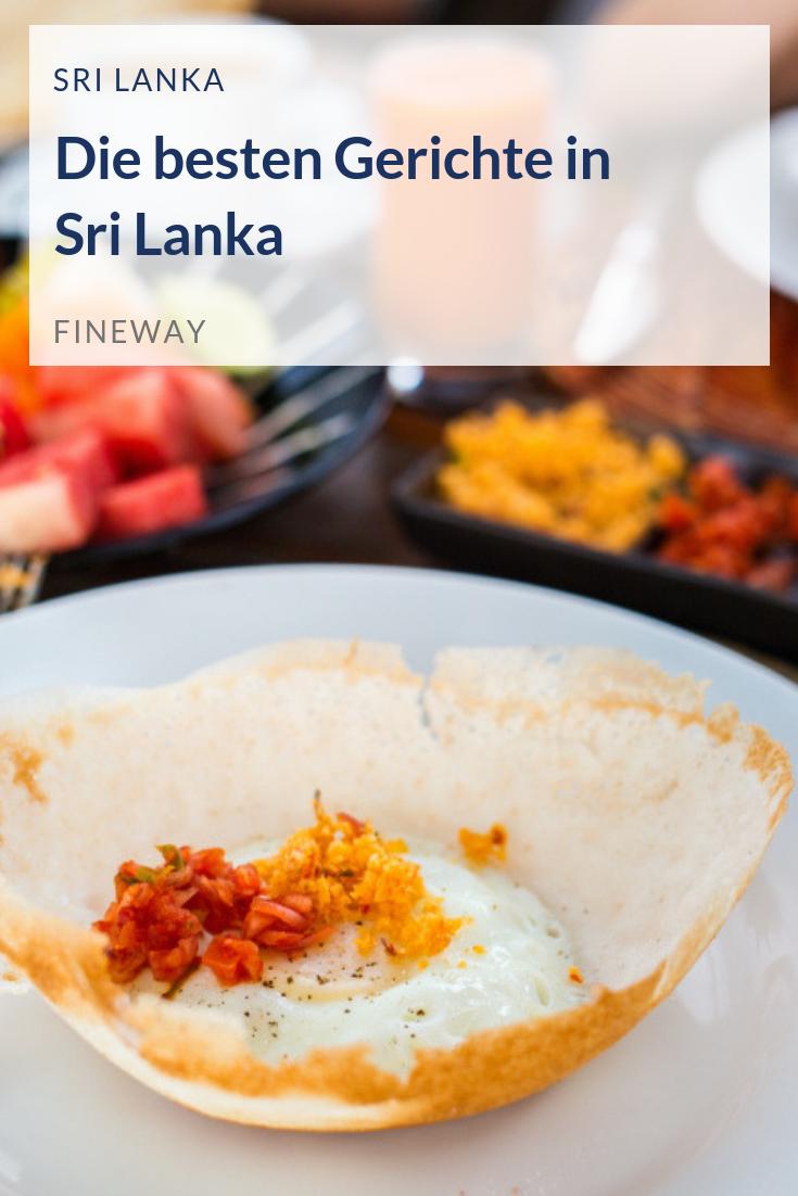 Sri Lanka hat kulinarisch viel zu bieten. Das sind die besten ...