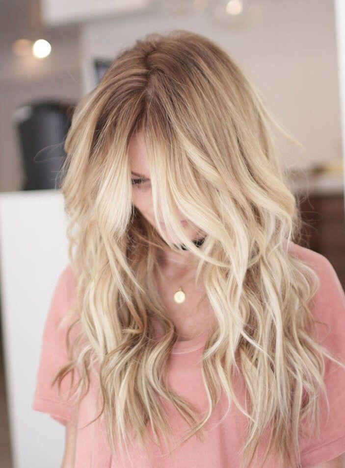 50 tolle blonde frisuren   balayage frisur, coole frisuren