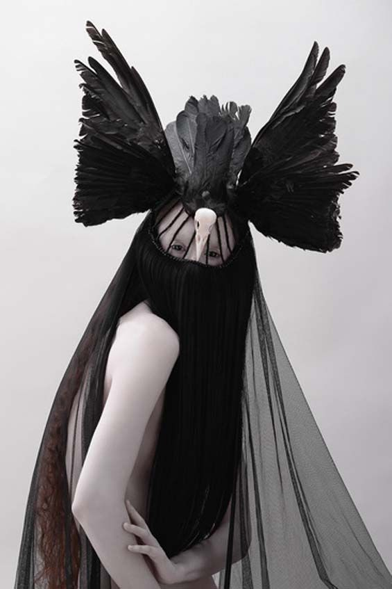 Fashion Designer That Uses Angel Wings
