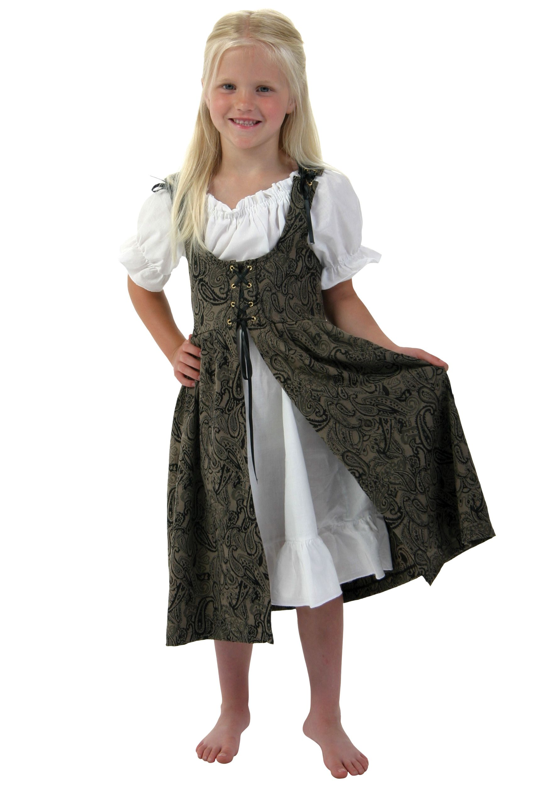 Girls Renaissance Faire Costume | Children costumes, Renaissance ...
