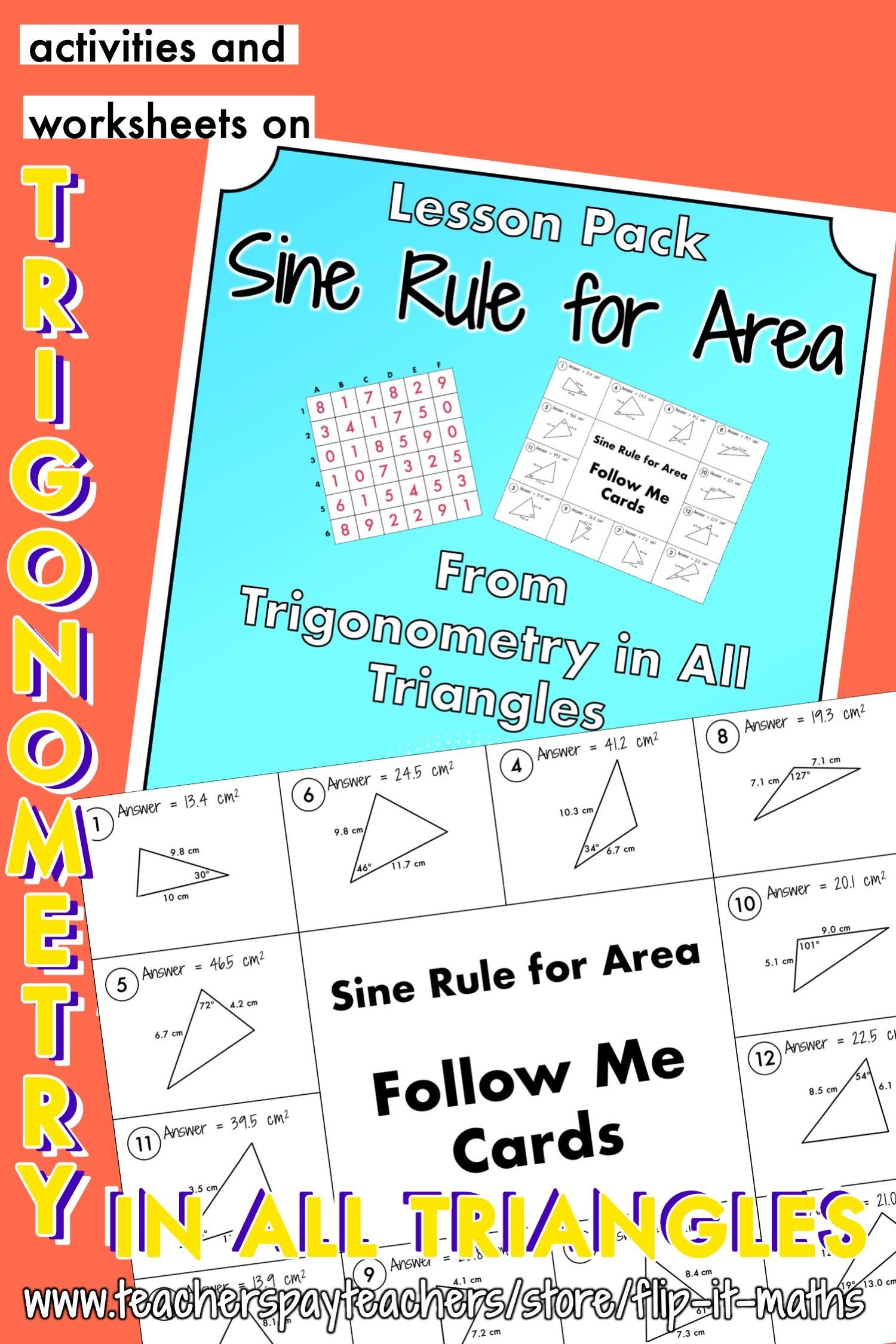 The Sine Rule For Area In
