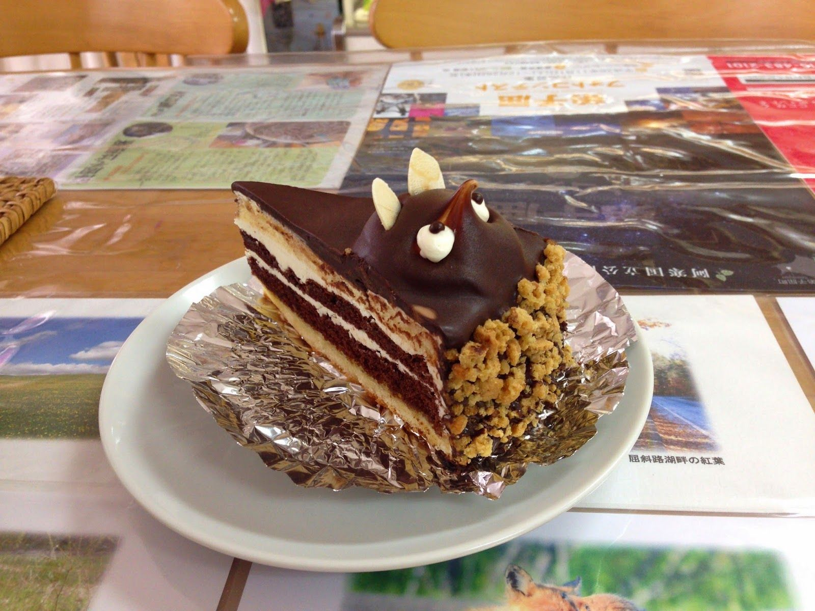 たぬきケーキのあるとこめぐり 全国たぬきケーキ生息マップ ポン太 風月堂 北海道弟子屈町 ケーキ たぬき 菓子