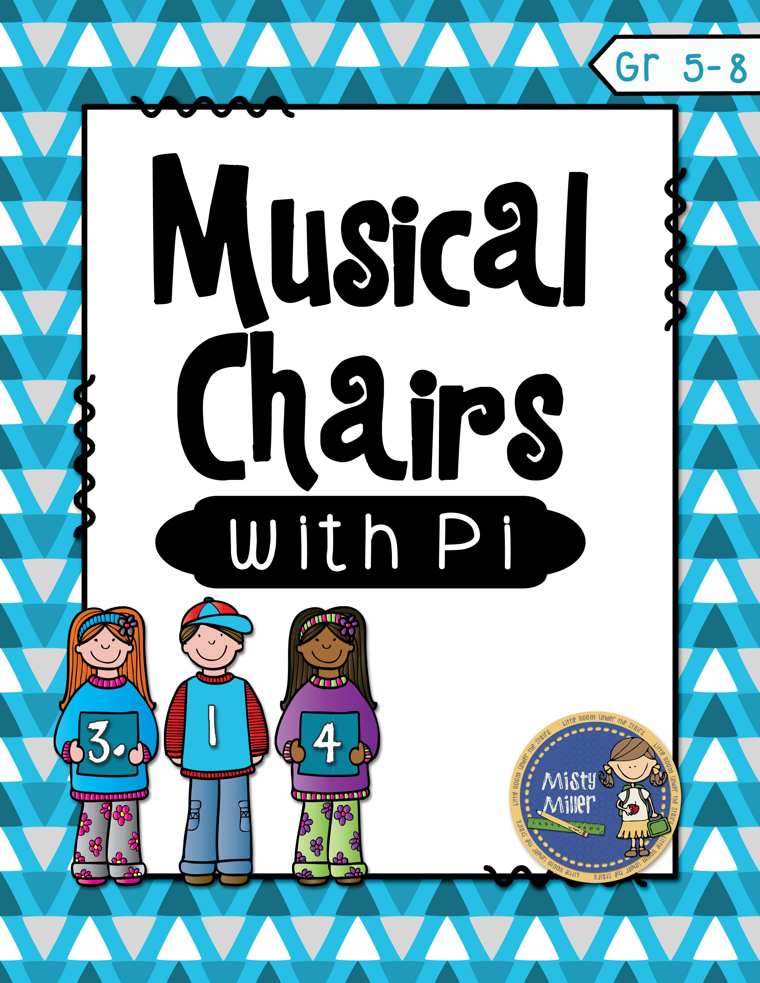 Pi Day Musical Chairs Middle School