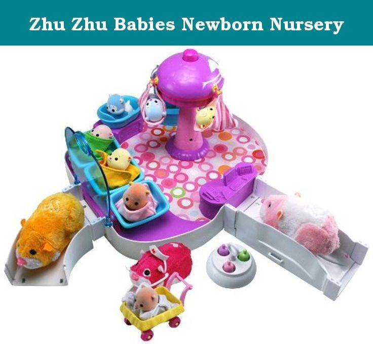 Zhu Zhu Babies Newborn Nursery Nurse Nuzzle And Cuddle Your Zhuzhu Babies In The Newborn Nursery Watch Them Swa Zhu Zhu Babies Newborn Nursery 90s Kids Toys