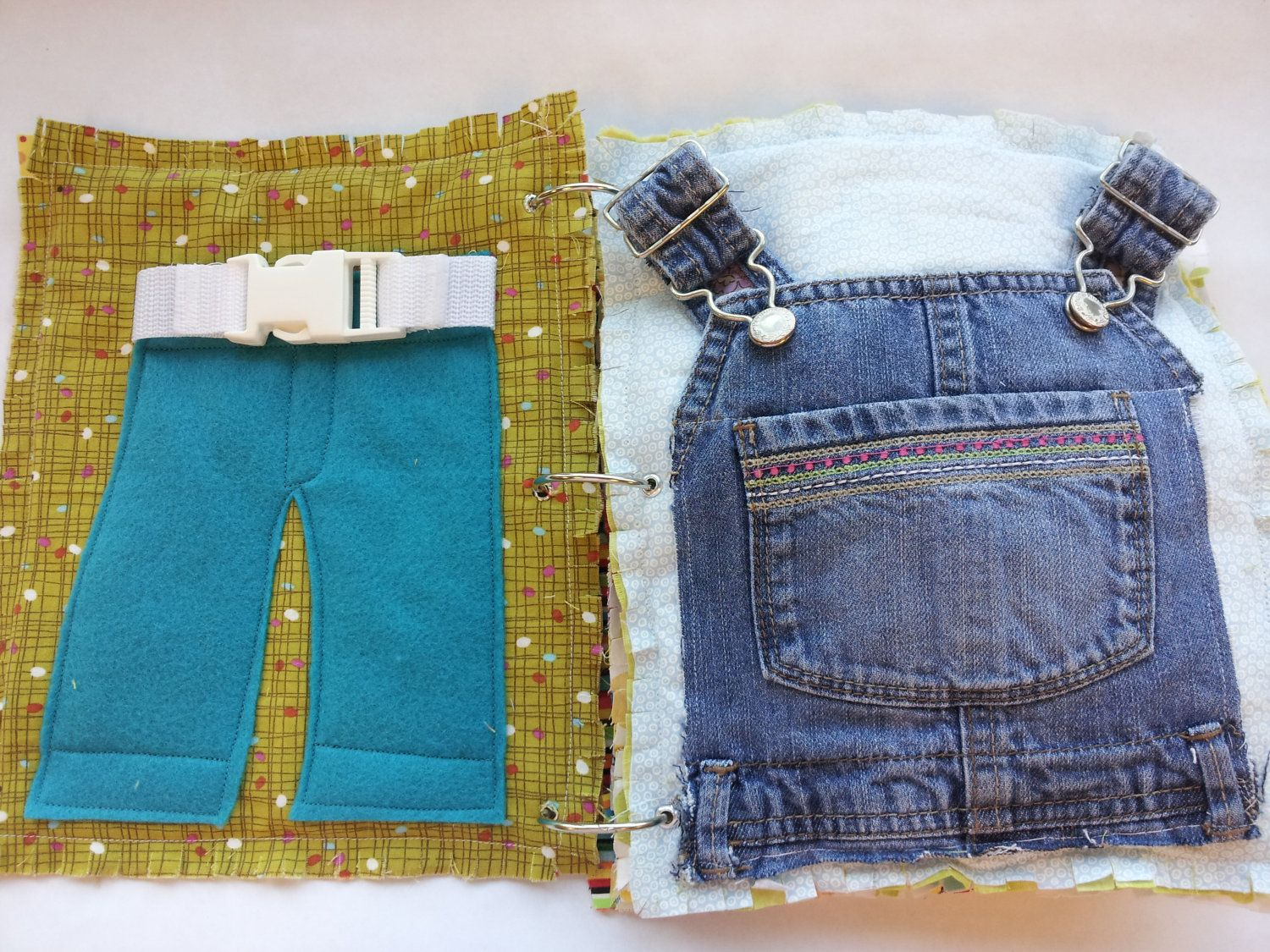 how to make a cloth book for toddlers