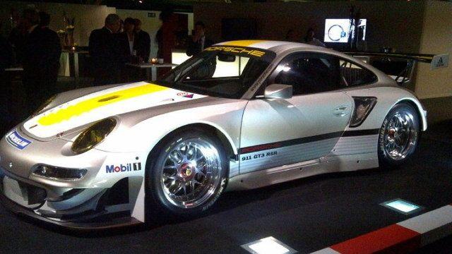 2012 Porsche GT3 RSR