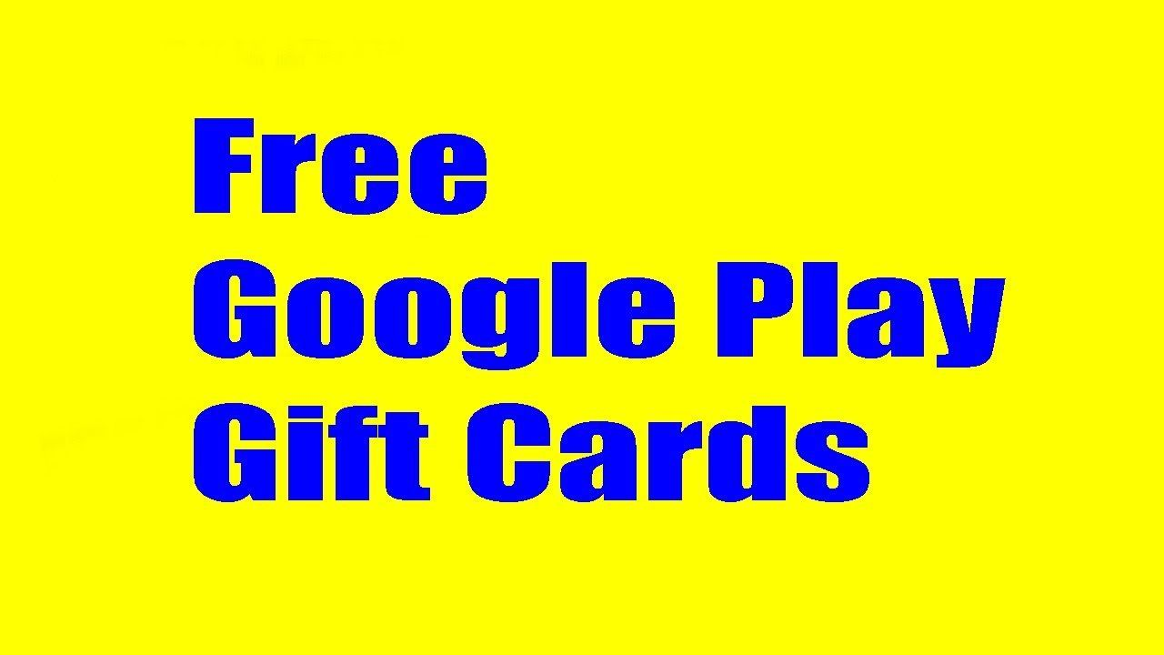 Google Play Code Giveaway 2017 100 Proofed How To Get Google