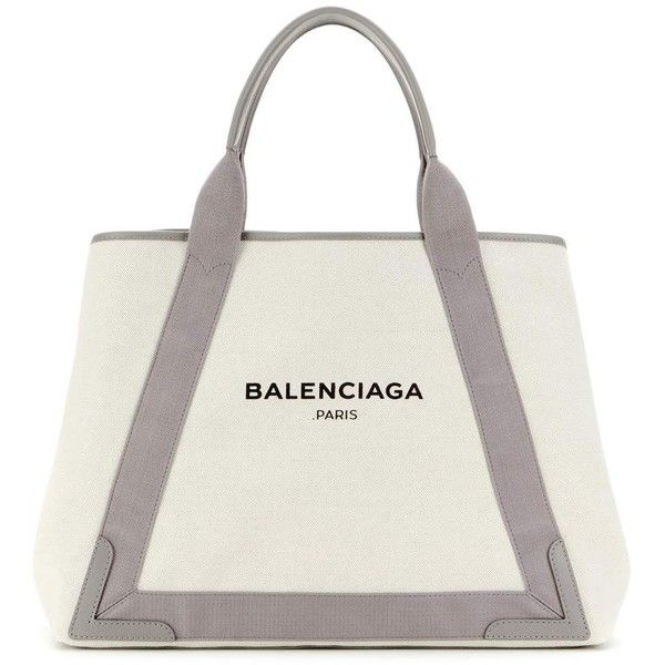 balenciaga tote bag white