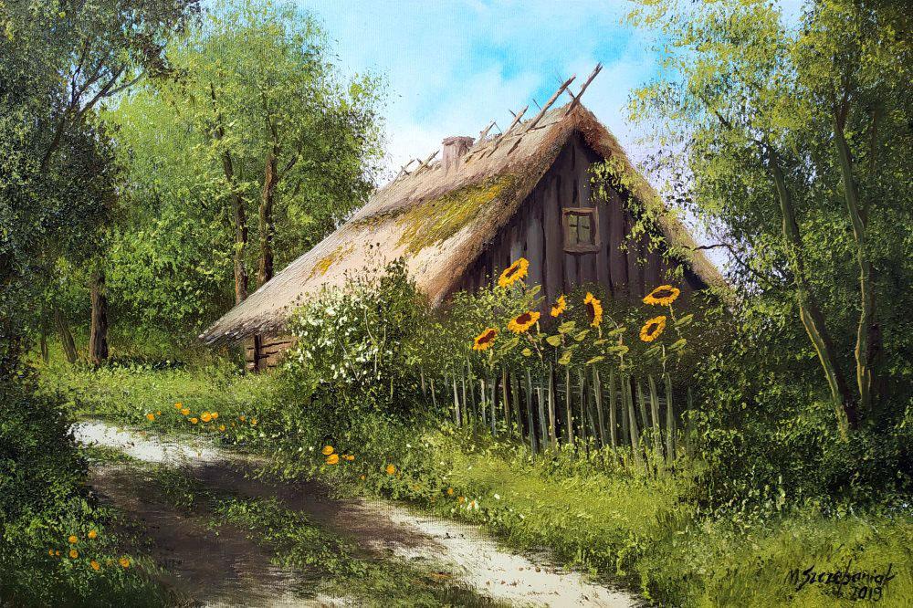 Хорошо в деревне летом... Художник Marek Szczepaniak ...