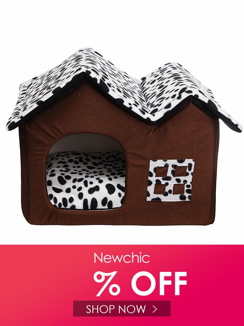 I Found This Amazing Portable Luxury Pet Dog Cat Bed House Warm