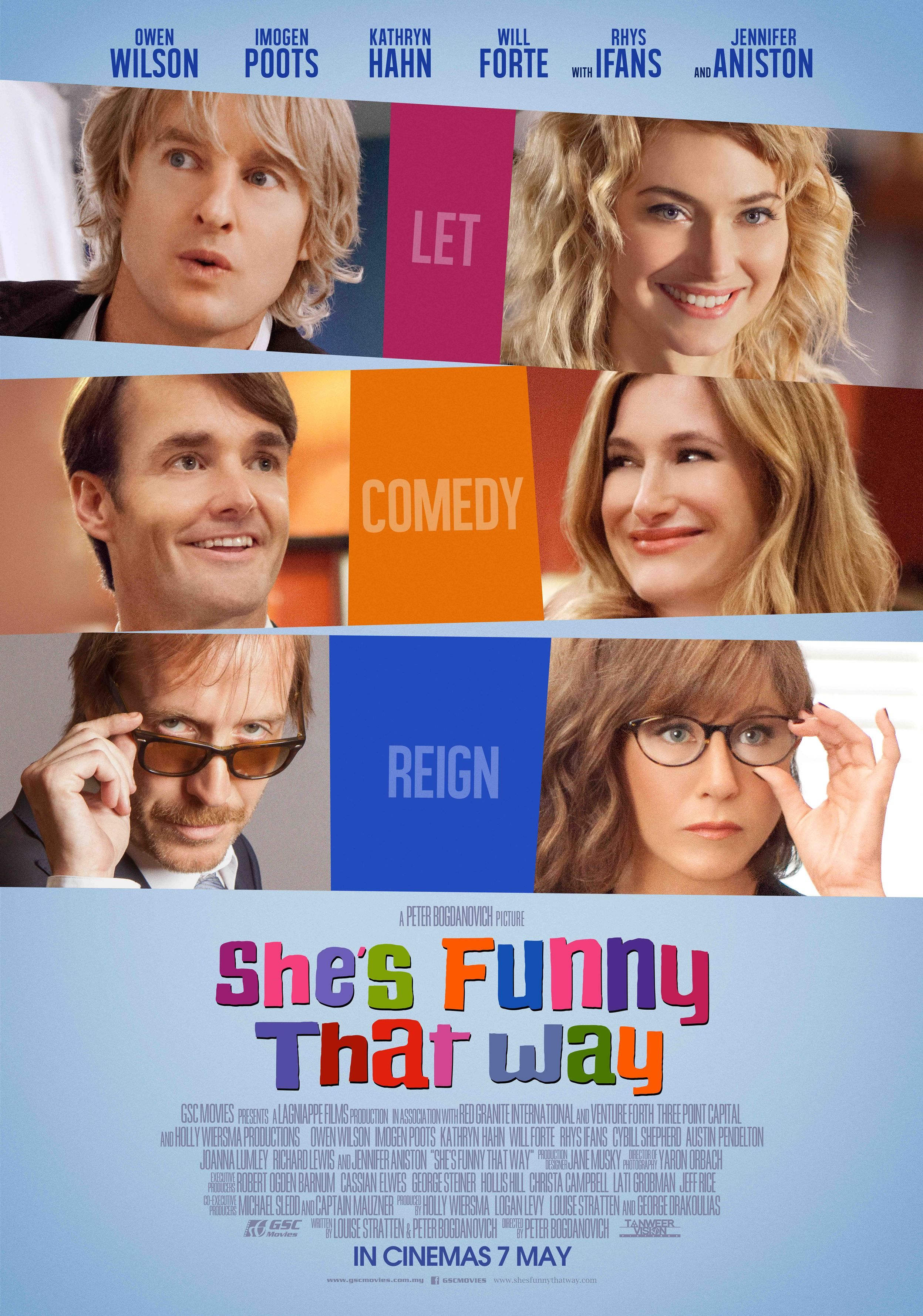 Shes funny that way 2015 broadway pelicula