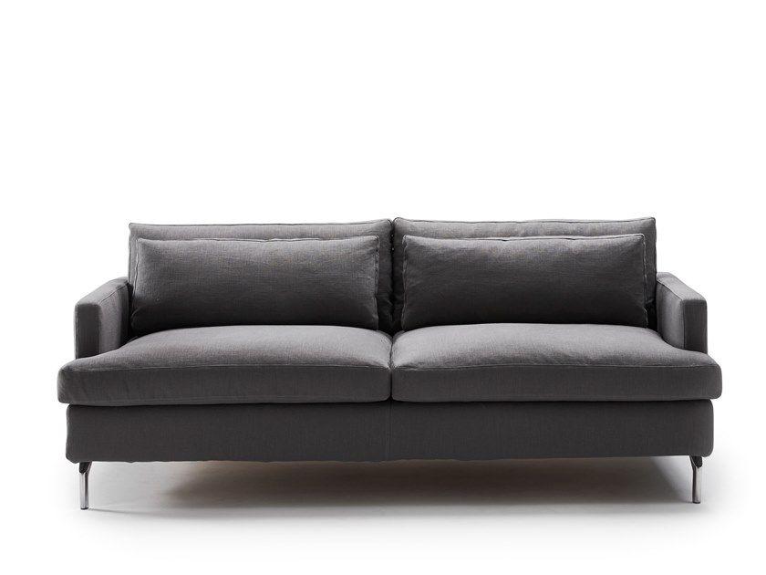 2 Seater Fabric Sofa Bed Dave 2 Seater Sofa Bed By Milano Bedding Divano Letto Divani Divano Tessuto