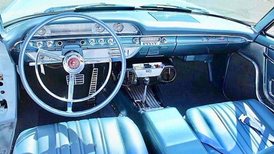 1962 Ford Galaxie 500xl Convertible Dash Ford Galaxie Galaxie Ford
