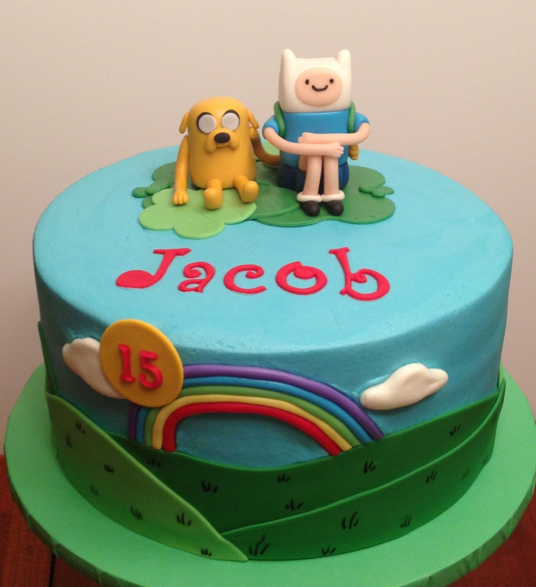 Adventure Time cake … | Pinterest